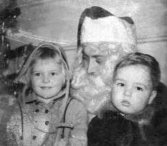 with santa and doak