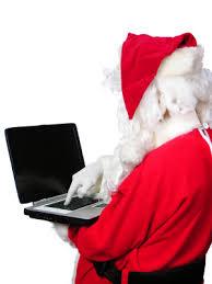 santa-typing